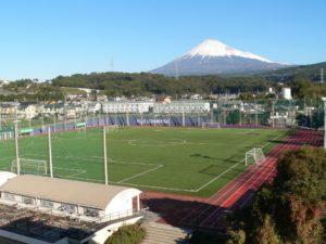富士市立高校グラウンド