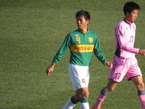 選手権準決勝の日大藤沢戦では同点ゴールを決めた本藤