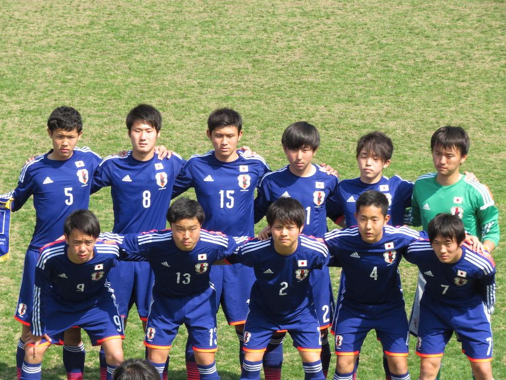 ボールを支配しながらPKの1点にに泣いて敗れたU-17日本代表イレブン