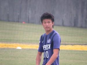 1年生から広島ユースで活躍したFW加藤