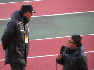 加見成司監督(左)