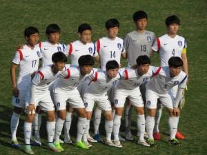 高い技術と個人技で快勝したU-17韓国代表イレブン