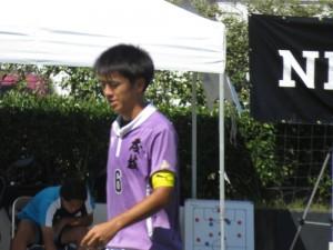 藤枝東のMF渡邉