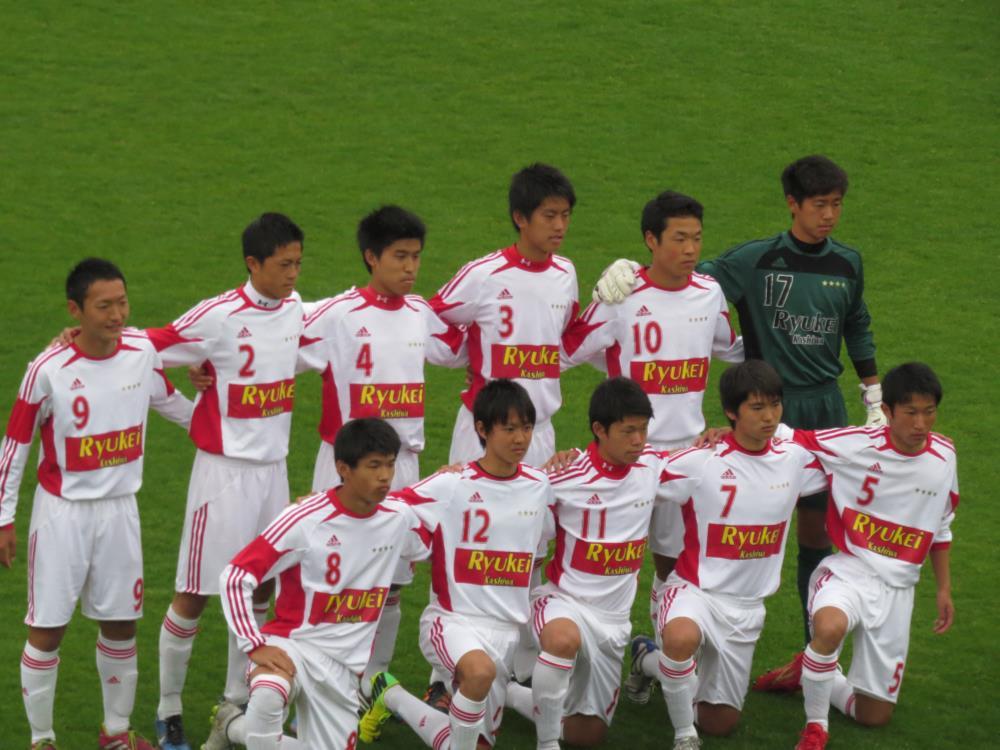 現在県リーグ1部で3位に付けるBチーム。プリンス関東昇格も視野に入れている。