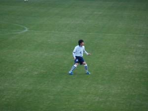 ボランチで活躍した勝田